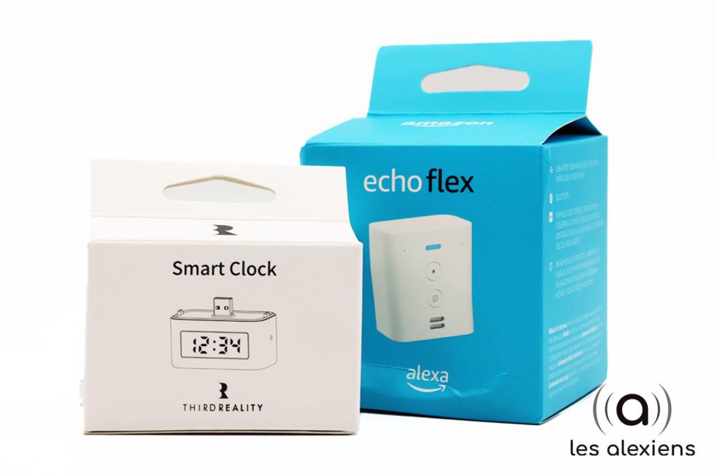 Présentation de l'horloge connectée pour Amazon Echo Flex