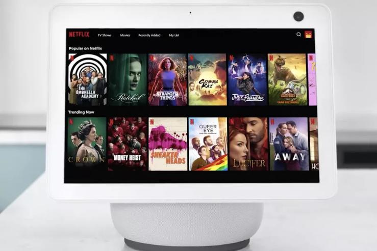 Amazon annonce l'arrivée prochaine de Netflix sur la gamme Echo Show !