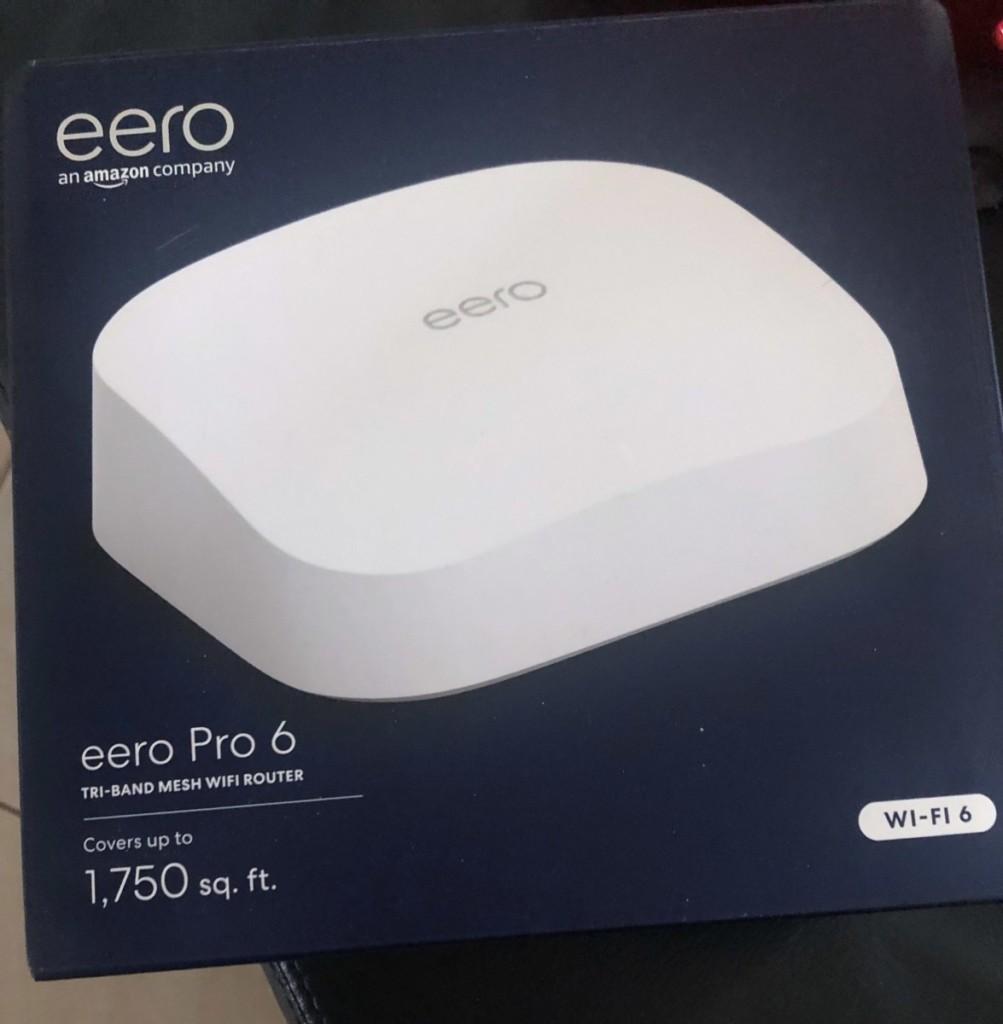 eero Pro 6 : une routeur Wi-Fi 6 + ZigBee ?
