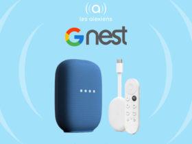 Nouvelles images de l'enceinte Nest Audio et du Chromecast avec Google TV
