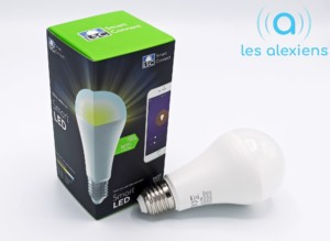 Ampoule LSC Smart Connect 14W 1400 lumens : avis et test avec Google Assistant et Amazon Alexa Echo