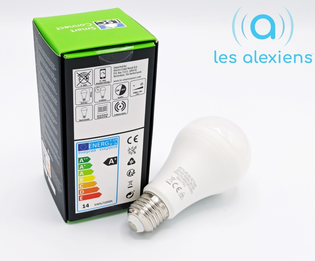 Avis ampoules LSC Smart Connect
