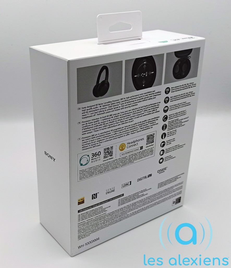 Unboxing Sony WH-1000XM4
