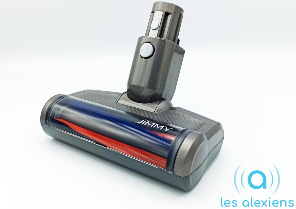 Une mini-brosse motorisée