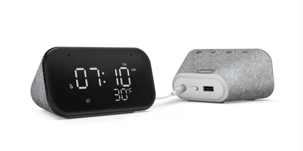 Lenovo Smart Clock : nouveau réveil connecté à Google Assistant