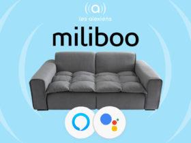 Miliboo Connected : un canapé connecté compatible Amazon Alexa et Google Assistant