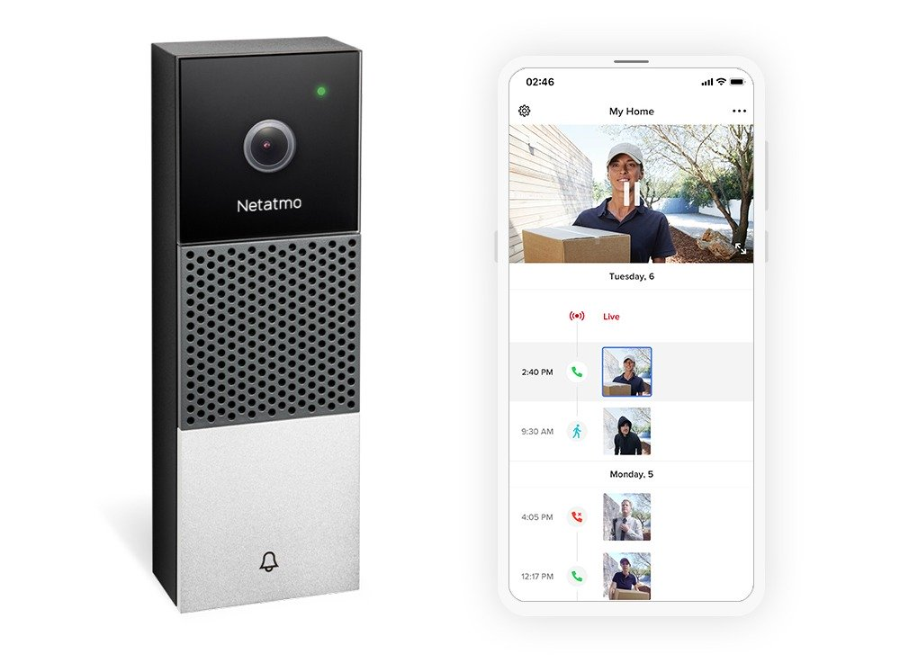 Netatmo présente sa nouvelle sonnette vidéo connectée compatible HomeKit
