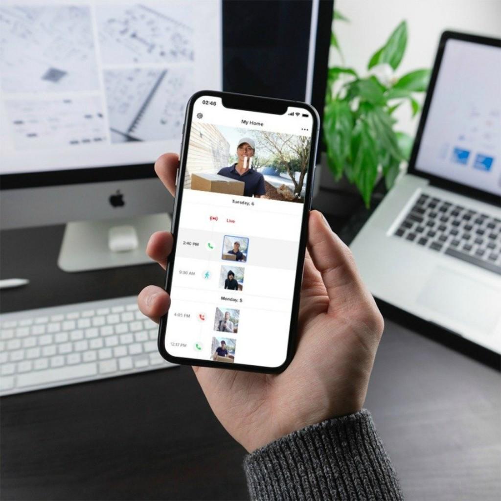 Application Netatmo Security pour sonnette connectée