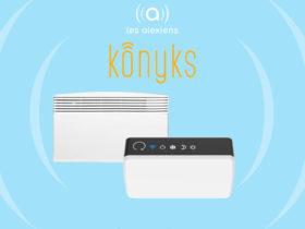 Konyks présente un thermostat connecté pour radiateurs électriques compatible Alexa Echo et Google Assistant
