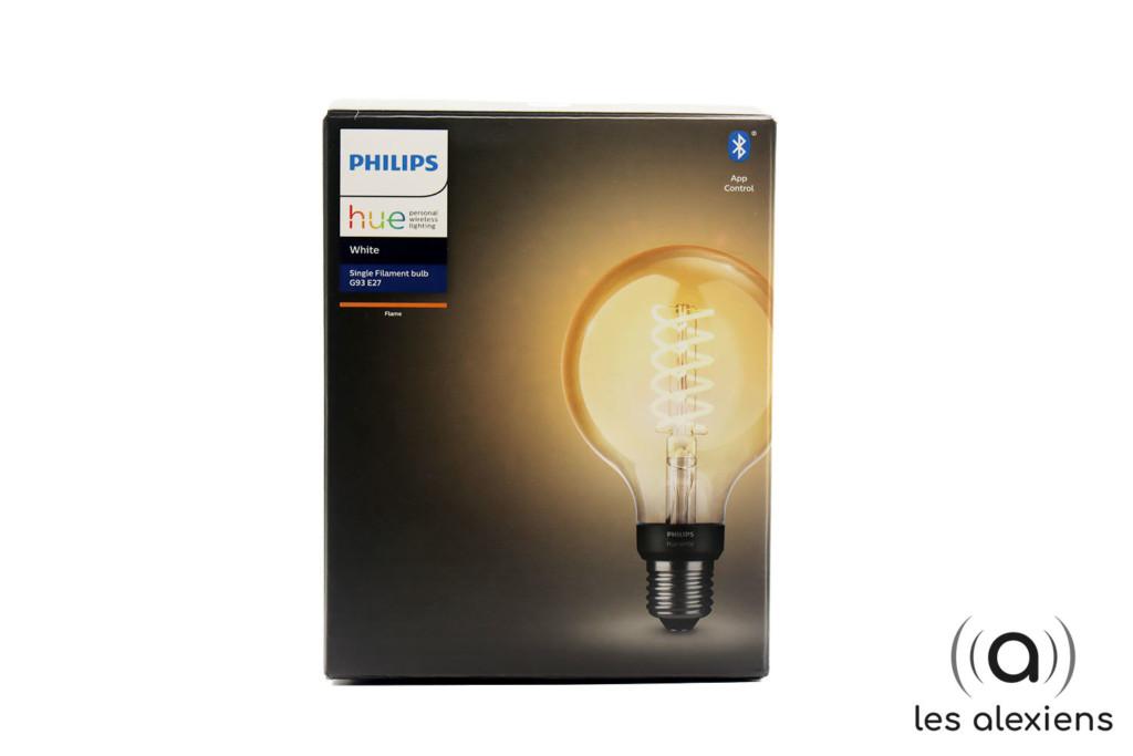 Philips Hue White Filament E27 : unboxing et avis