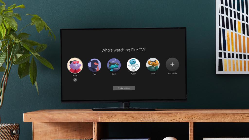 Fire TV : jusqu'à 6 profils pour chaque membre de la famille