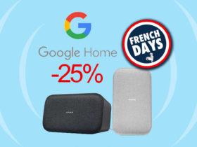 Fnac Darty propose promotion sur Google Home Max aujourd'hui