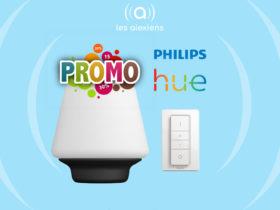 Promo sur la lampe connectée Philips Hue Wellness