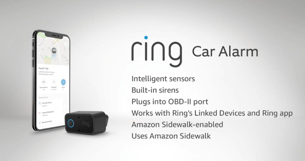 Ring Car Alarm : présentation Amazon Devices 2020