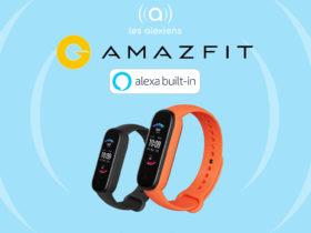 Amazfit Band 5 avec Alexa intégrée est disponbile en précommande sur Amazon