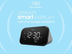 Lenovo Smart Clock Essentiel : un réveil connecté Google Assistant