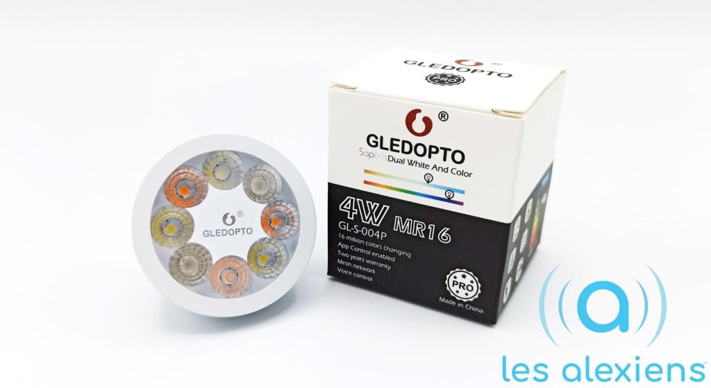 GLEDOPTO MR16 : un Spot ZigBee GU5.3