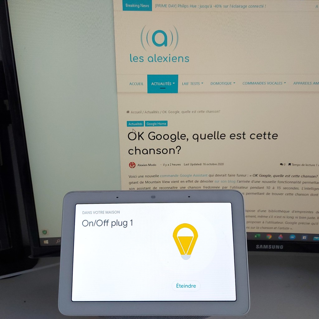 IKEA TRÅDFRI fonctionne parfaitement avec Google Home Assistant