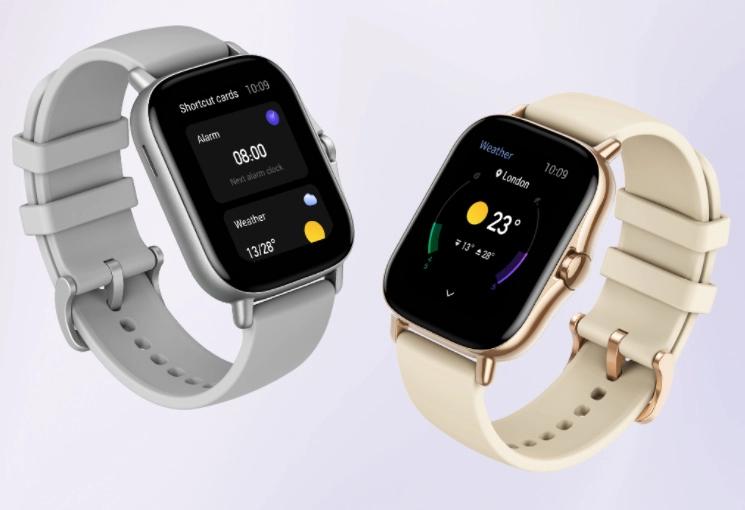 Nouvelle montre connectée Amazfit GTS 2 avec Alexa intégrée