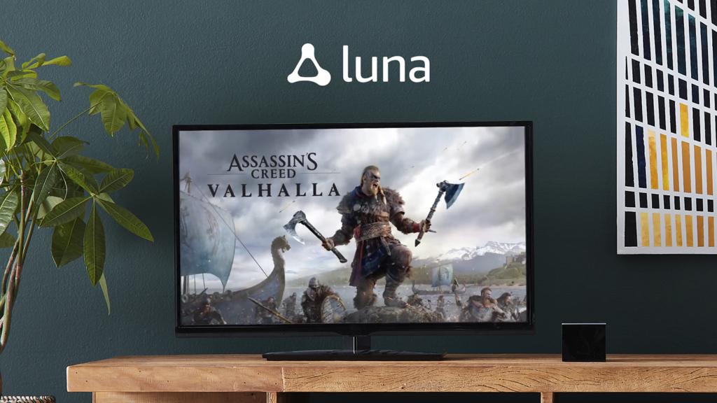 Assassin's Creed Valhalla sur Amazon Luna