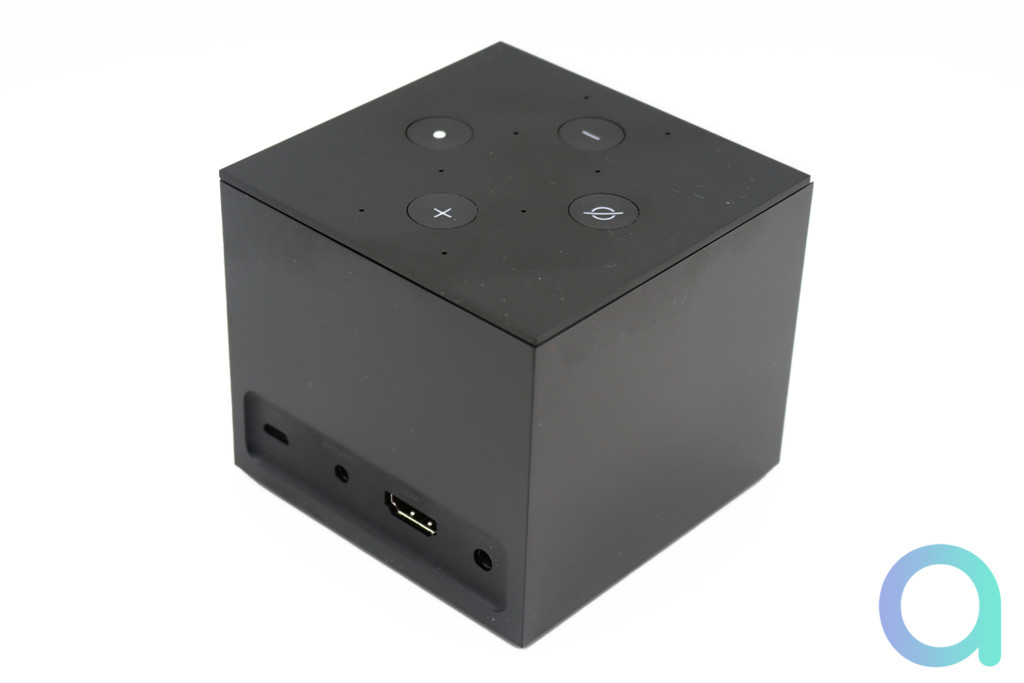 Connectique du Fire TV Cube