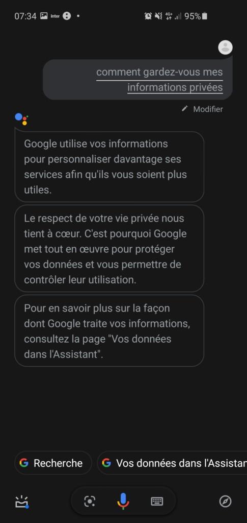 Supprimer ses données Google Nest Home