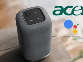 Acer présente Halo, son enceinte connectée avec Google Assistant