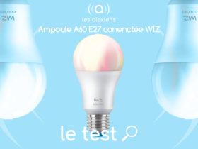 Notre avis sur l'ampoule WiZ COlors E27 avec Alexa et Google Assistant