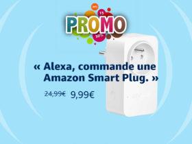 Promo sur la Smart Plug Amazon à 9.99 euros soit 60 pourcents de remise