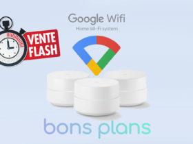 Vente flash sur Google Wifi : le pack de 2 en promo