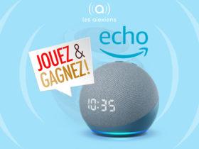 Gagnez la nouvelle enceinte Amazon Echo Dot 4 avec horloge