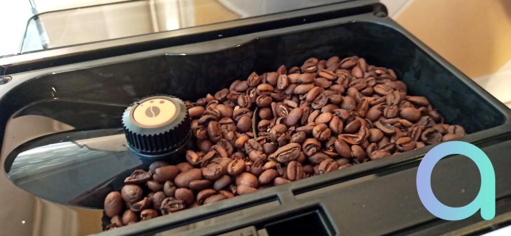Broyeur à grains de café de la Krups Evidence