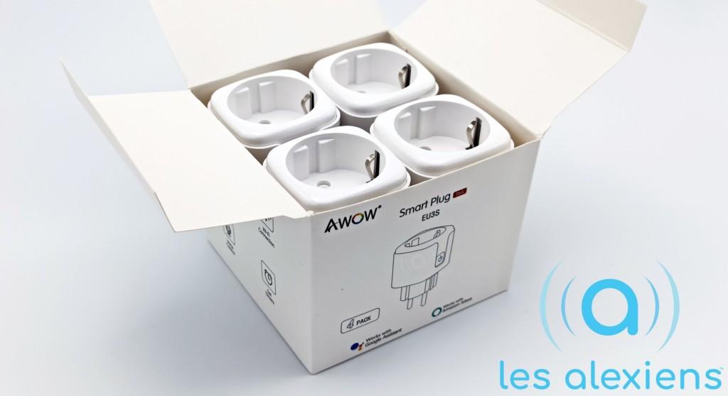 Unboxing des prises connectées AWOW