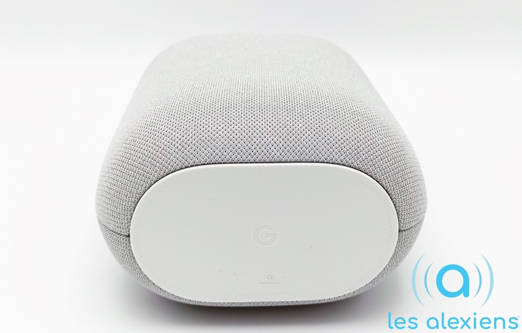 Nest Audio possède une surface antidérapante