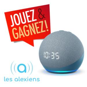 Gagnez Echo Dot 4 avec horloge avec Les Alexiens !