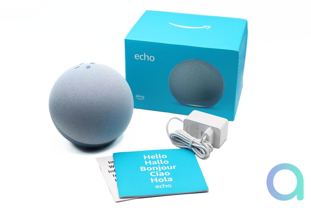 Packaging du nouvel Echo 4e génération