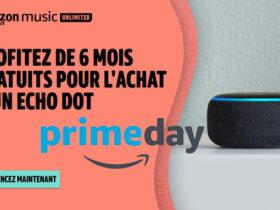 6 mois gratuits à Amazon Music pour l'achat d'un Echo Dot 3