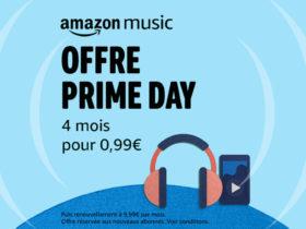 Bon plan : offre Prime Day 2020 d'Amazon Music à 99 centimes les 4 mois