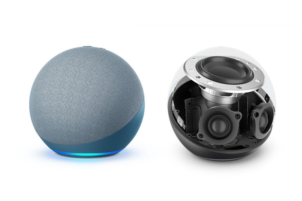 Echo 4 : 3 haut-parleurs pour un audio Dolby puissant