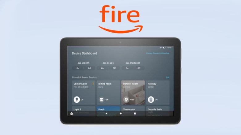 Amazon déploie une mise à jour de ses tablettes Fire HD