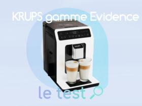 Notre avis sur la machine à café expresso Krups Evidence Bluetooth