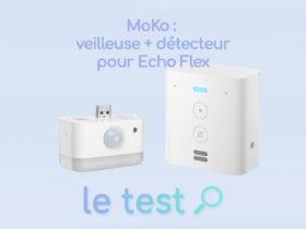 Notre avis sur la veilleuse et détecteur MoKo pour Echo Flex d'Amazon