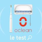 Test Oclean Air 2 et avis Oclean S1 : une brosse à dents sonique et un stérilisateur UVC