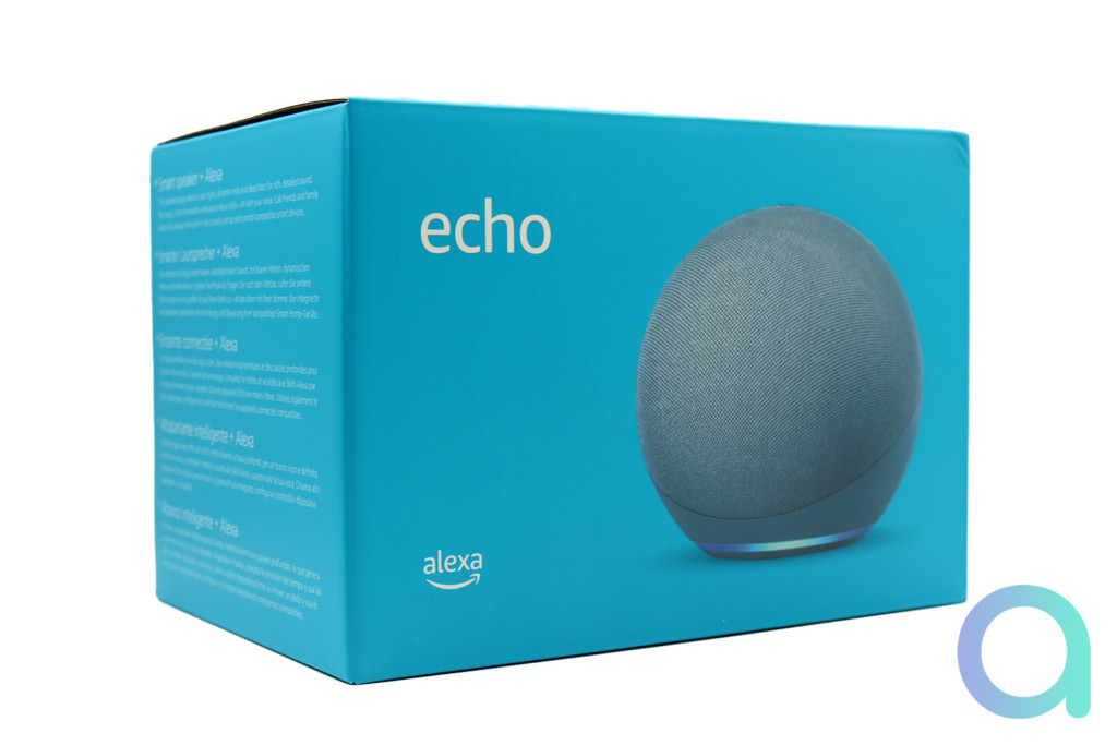 Le packaging Amazon Echo 4