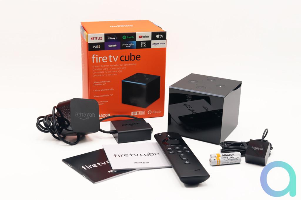 Fire TV Cube et ses accessoires