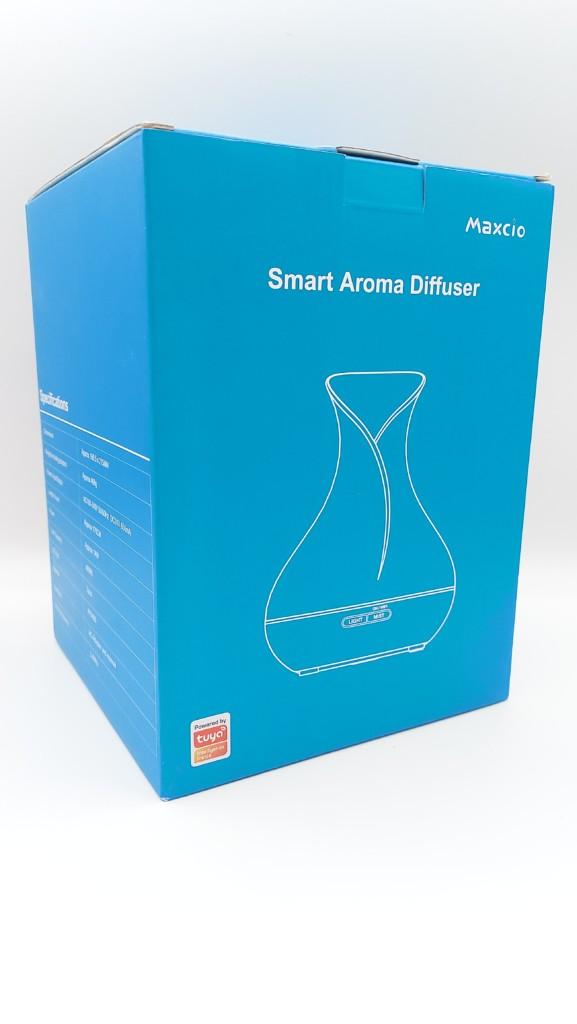 Unboxing diffuseur d'huiles essentielles Maxcio