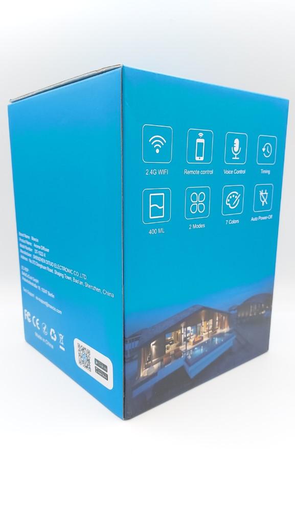Un diffuseur d'huiles essentielles compatible Smart Life de Tuya