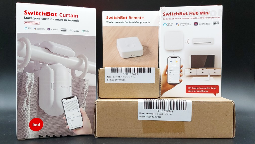 Unboxing des produits SwitchBot