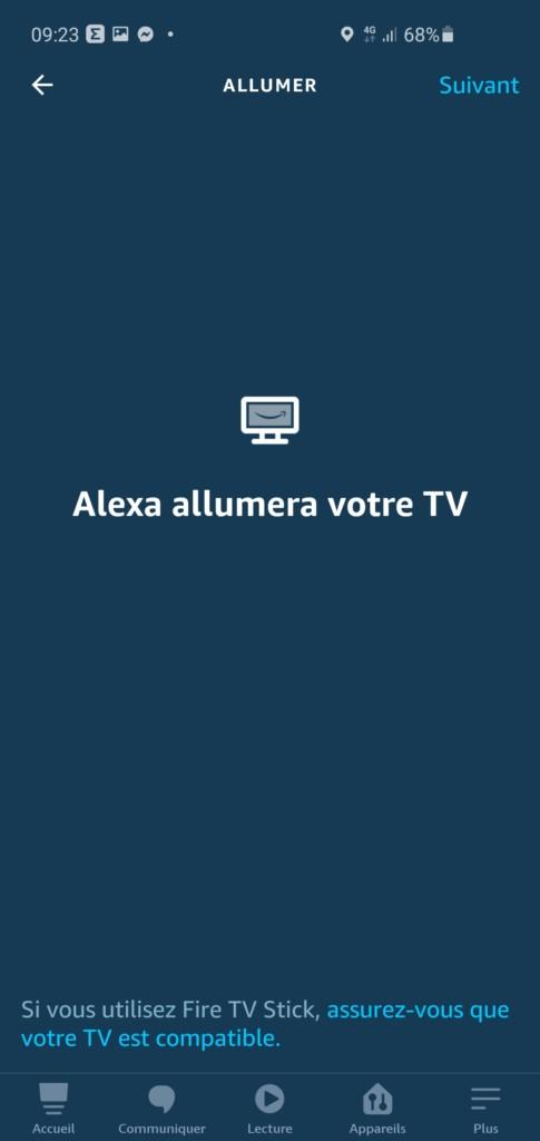 Alexa éteins la TV