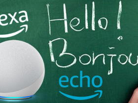 Alexa parle français et anglais en même